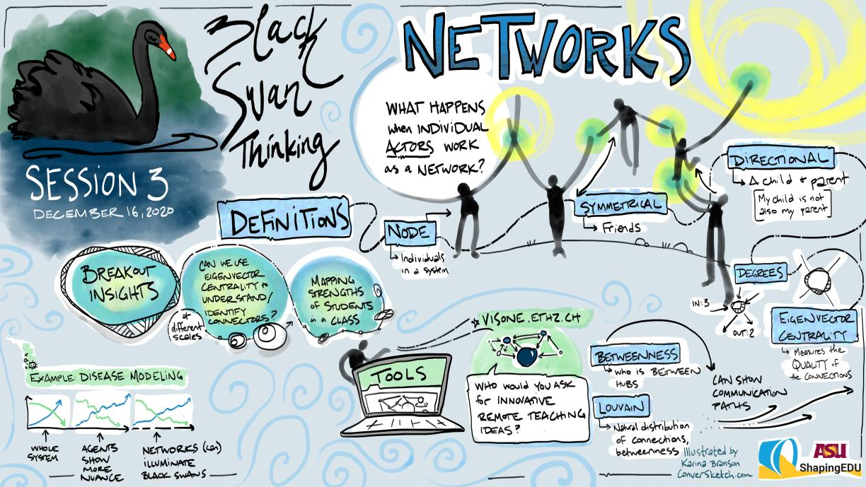 The Black Swan Thinking Project - Session 3 ConverSketch