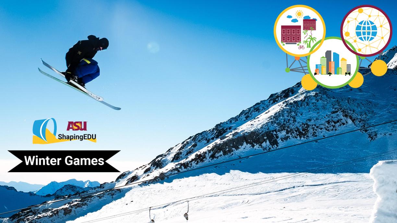 ShapingEDU Winter Games Banner